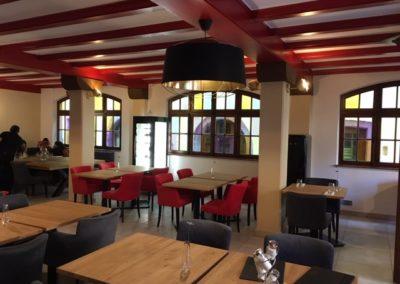 Recherche luminaires restaurant Riquewihr