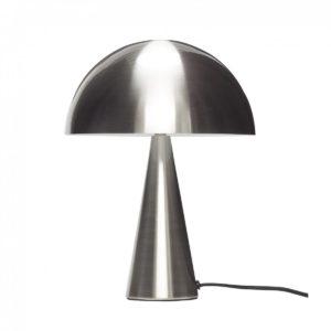 Lampe métal argenté 180€ chez Inspiration Design à Colmar