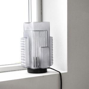 Lampe verre glacé 195€ chez Inspiration Design à Colmar