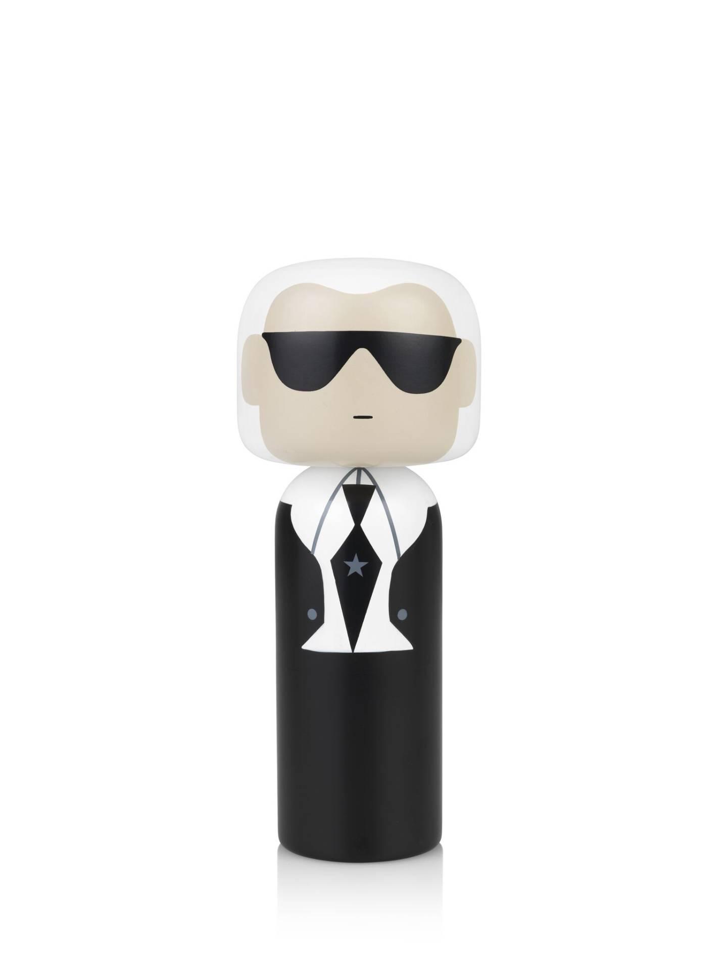 Poupée en bois Karl Lagerfeld H21,5cm : 80€ chez Inspiration Design à Colmar