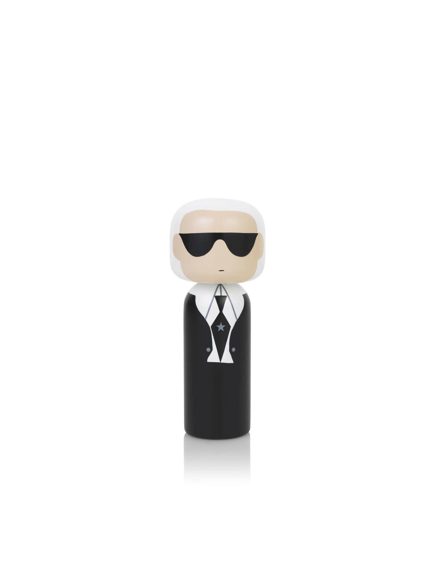 Poupée en bois Karl Lagerfeld H14,5cm : 39€ chez Inspiration Design à Colmar
