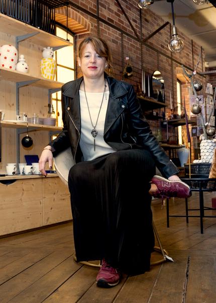 Inspiration Design, votre boutique de décoration à Colmar (68)- Portrait de Caroline Fischer
