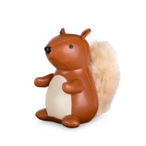 Écureuil marron en cuir 1kg 75€ chez Inspiration Design à Colmar