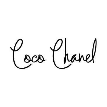 signature Coco CHANEL