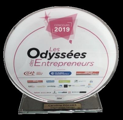 trophée odyssées des entrepreneurs Alsace 2019