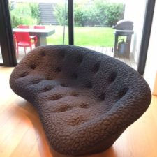 Choix du mobilier et mise en scène de l'espace salon, vue du canapé par Inspiration Design : Décoratrice UFDI à Colmar