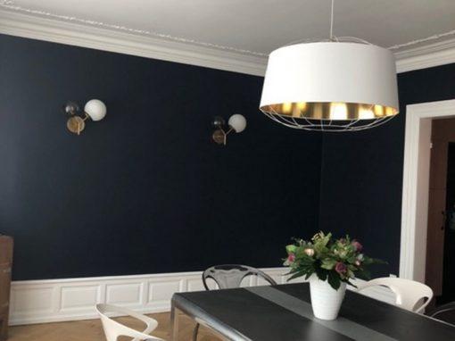 Travaux de rafraîchissement et sélection de luminaires appartement Colmar