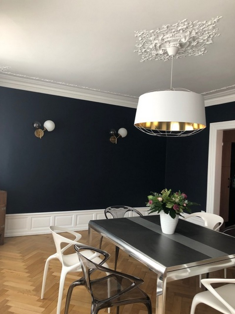 Travaux de rafraîchissement et sélection de luminaires appartement Colmar, par Inspiration Design, Décoration intérieure à Colmar