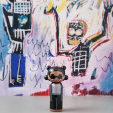 Poupée en bois Basquiat H14,5cm : 46€ chez Inspiration Design à Colmar