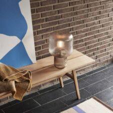Lampe à poser verre H42cm à 220€ chez Inspiration Design à Colmar