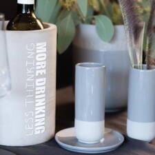 Rafraîchisseur vin bêton H21.5cm à 35€ chez Inspiration Design à Colmar