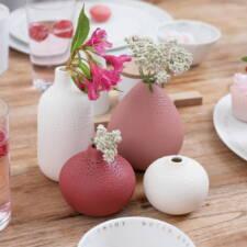 Soliflore porcelaine 10€ l'unité chez Inspiration Design à Colmar