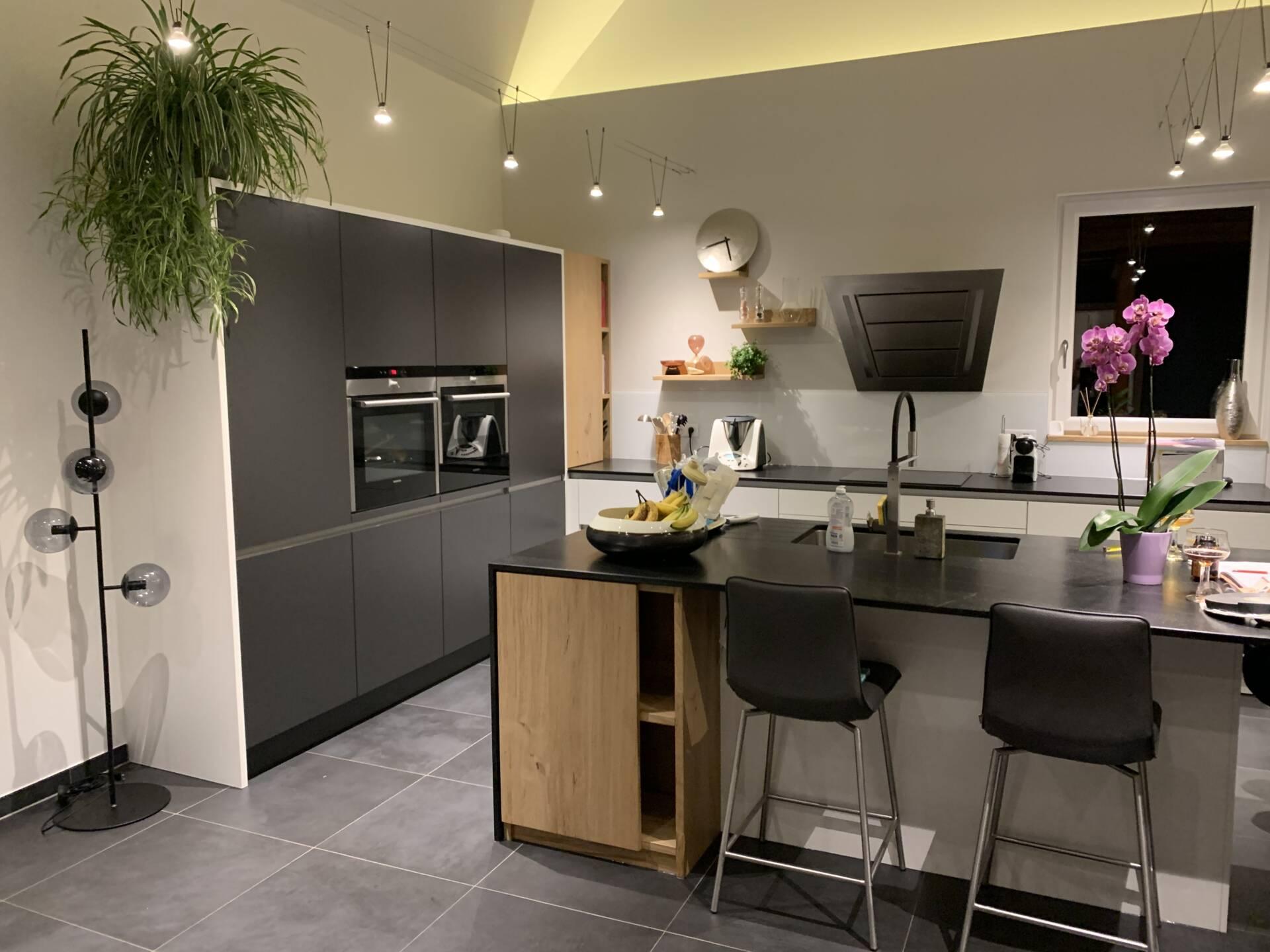 Rénovation espace cuisine et espace détente à Orbey, par Inspiration Design, Décoration intérieure à Colmar